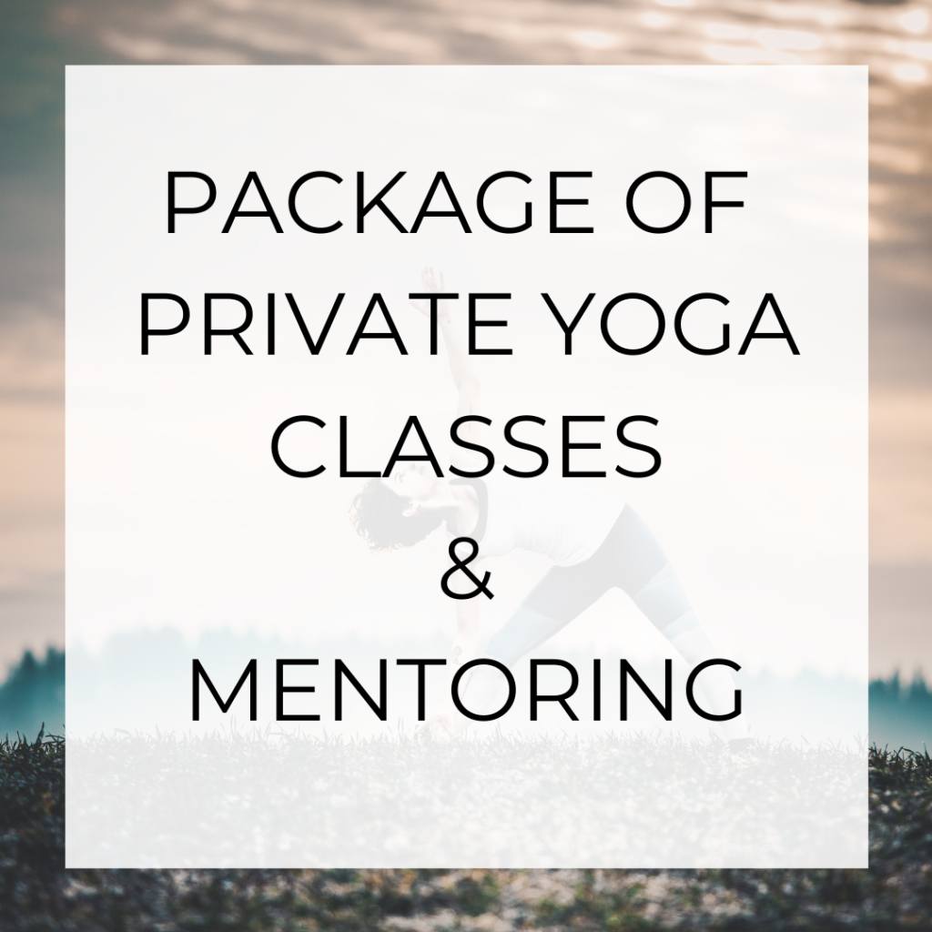 packages of private yoga
